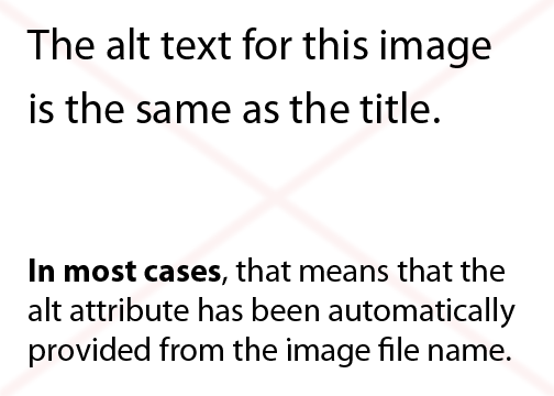 example image is not properly tagged for screen reader